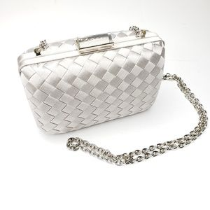 Saks 100% Silk Evening Bag Clutch